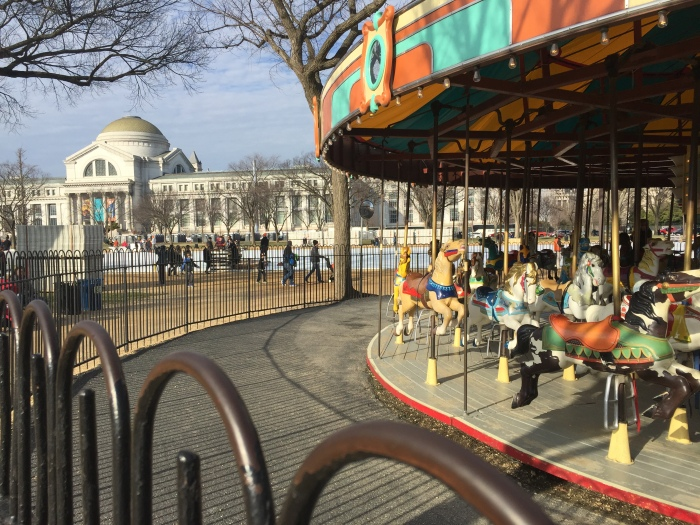 The civil rights history of The National Mall carousel