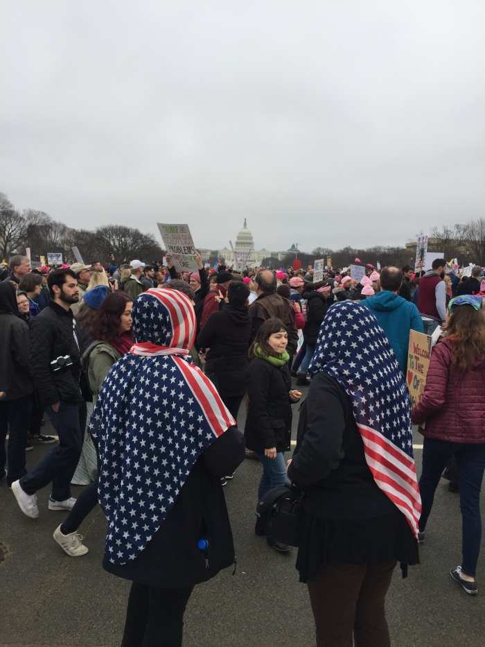 Scenes from the Women's March