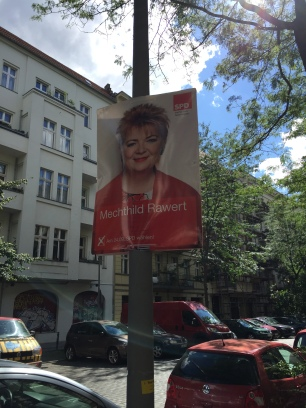 SPD Bundestag Candidate Poster